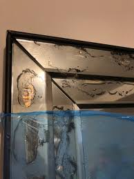 ship framed art and antique mirrors