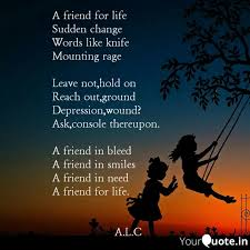 a friend for life sudden quotes writings by ayang l chang
