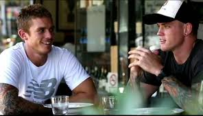 Brothers in arms: Dayne And Claye - AFL Players