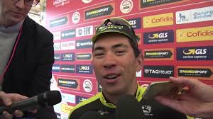 Caleb Ewan - Post race interview ...