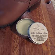 beeswax leather conditioner and polish