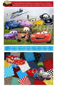 Kit Imprimible Cars Disena Tarjetas Invitaciones Cumple 330 00