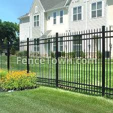 Jerith Aero Avalon Aluminum Fence Panel 72h Fencetown