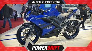 2018 yamaha r15 v3 auto expo the rs