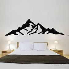 Mountains Vinyl Wall Art Decal