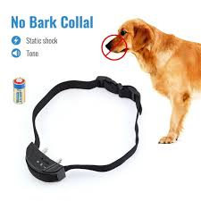 Petrainer Pet852 Dog Bark Collar Electric Shock Collar No Bark Collar Warning Beeper Bark Control E Collar Walmart Com Walmart Com