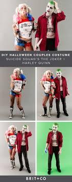 diy joker and harley quinn costumes