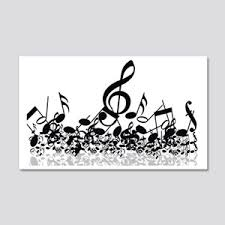 Music Wall Decals Cafepress