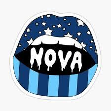 Villanova University Lips Sticker By Emmycap Redbubble