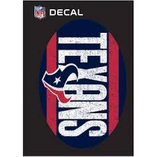 Houston Texans Car Decals Decal Sets Texans Car Decal Official Houston Texans Shop