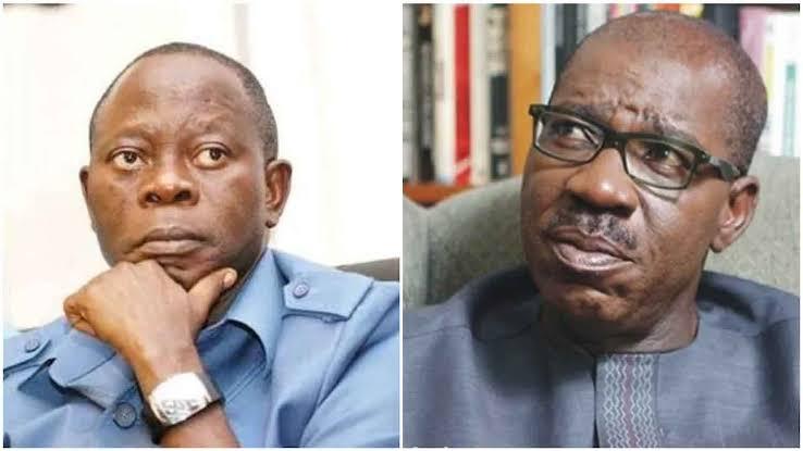 Obaseki Writes IGP, Seeks Oshiomhole's Arrest