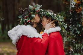 diy traditional slavic pagan wedding
