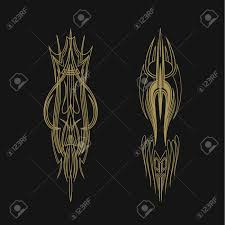 Pinstriping Vehicle Graphic Decorative Vector Vinyl Decal Royalty Free Cliparts Vectors And Stock Illustration Image 83310158