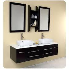 double vessel sink bathroom vanity set