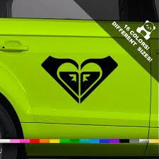 Roxy Logo Car Decal Roxy Emblem Window Or Bumper Sticker Etsy