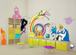 Adventure Time Character Wall Decals