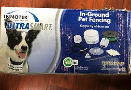 Innotek Ultrasmart In Ground Pet Fencing Remote Training System With Two Collar 134 50 Picclick