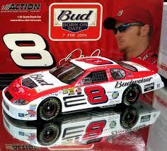 Dale Earnhardt Jr 2004 Budweiser Shootout Born On Date Action 1 24 Scale Nascar Diecast Car