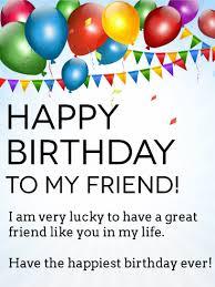 birthday wishes for friend birthday