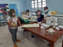 Equipe da Sema produz máscaras para doação em Cruzeiro do Sul ...