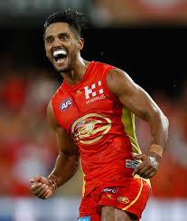 Aaron Hall - Aaron Hall Photos - AFL Rd 1 - Gold Coast v Brisbane ...