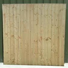 Standard Closeboard Fence Panel Crestala Fencing Centre