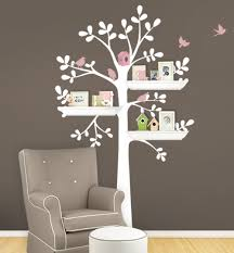 Owl Birds Tree Wall Decal For Nursery Princess Girl Bedroom Wall Tattoo Large Tree With Flowers Wall Stickers A397 Tree Wall Decal Wall Decalstree Wall Aliexpress