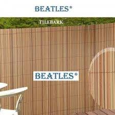 Synthetic Plastic Reed Fence Panels For Villas Garden Fencing Decoration Beatlespark