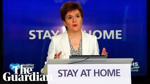 Coronavirus: Nicola Sturgeon holds ...