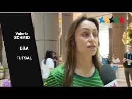 Brazilian futsal player Valeria Schmidt awarded the best athlete - 29th  Summer Universiade 2017 - YouTube