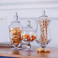 for apothecary glass jar home