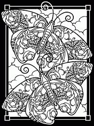 printable stained glass coloring pages