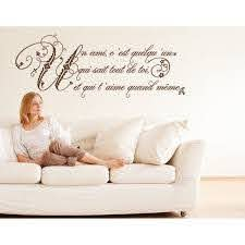Shop Style And Apply Friendship French Quote Vinyl Wall Decal Overstock 12070887