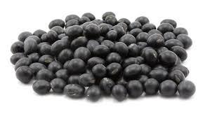 organic black soybeans soy beans