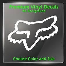 Fox Racing Decal Vinyl Fox Racing Sticker Motocross Helmet Stickers Mx Decals Myfriendsdentist Com