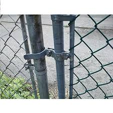 Gate Fork Latch For Chain Link Gates And Fences Part 16 1 4 X 2 4 Inch Aleko
