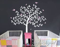 Tree Wall Decal Nursery Large Tree Wall Decal Wall Mural Stickers Nurs Surface Inspired Home Decor Wall Decals Wall Art Wooden Letters