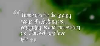 beautiful farewell quotes for teacher we need fun