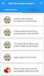 kata kata dilan for android apk