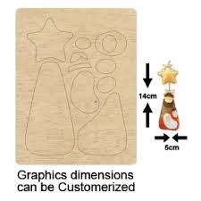 compare wooden 3d flowers pendent