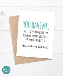 birthday quotes birthday card funny boyfriend card funny by