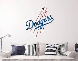 Los Angeles Dodgers Logo Wall Decal Sport Window Sticker Vinyl Decor Mlb Ebay