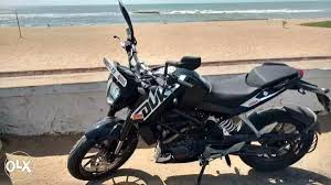 second hand used ktm duke 200 std