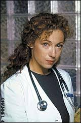 Alex Kingston 'too old at 41 to appear in ER' - Telegraph
