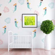 Ariel Mermaid Wall Decal Set Project Nursery