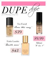 foundation dupes by cinthiaeliz on