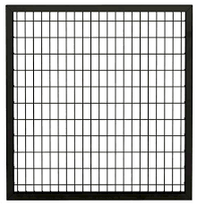 4 X 4 Black Euro Steel Fence Gate Panel At Menards