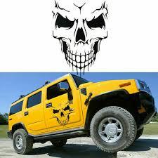 Skull Hood Decal Large 22 Graphic Sticker Car Truck Trailer Boat Vinyl Pre Cut Ebay