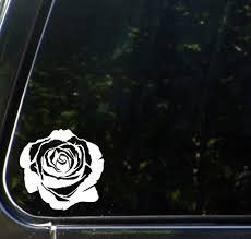 The Decal Store Com By Yadda Yadda Design Co Car Rose Blossom Vinyl Decal Sticker For Cars Trucks Outdoor U