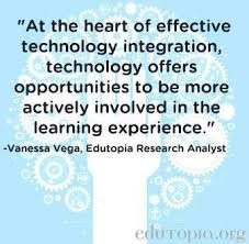technology and education quote via edutopia org technology